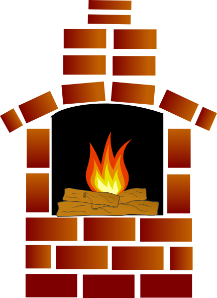 flames clipart fire oven