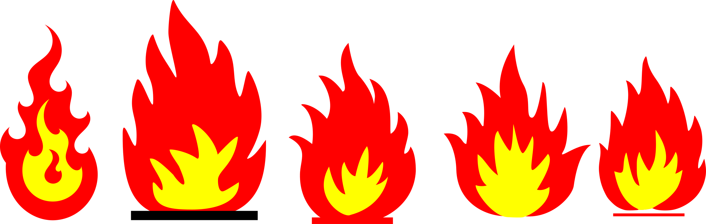 Flames clipart fire pattern. And remixes icons png