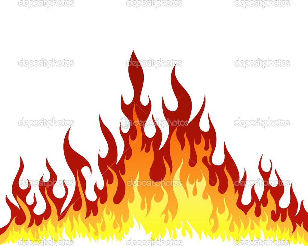 Background stock vector angelp. Flames clipart fire pattern