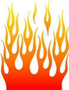 Flames clipart flames harley. Davidson stencil patterns bing