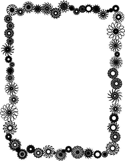 Flames clipart frame. Flame clip art vector