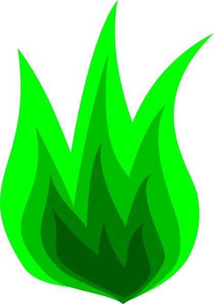 Flame clip art simple. Flames clipart green fire