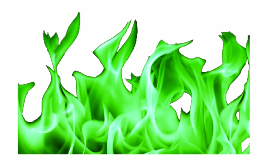 Flames clipart green fire. Png with no background