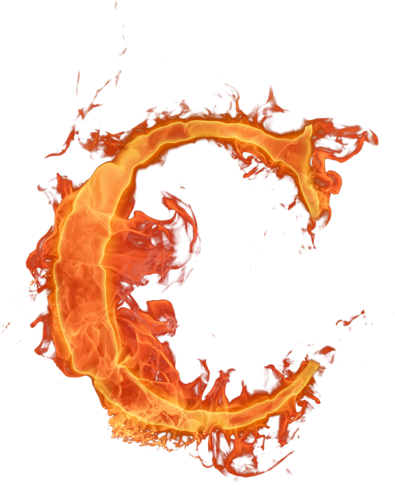 Letter clipart flame. Letras png fogo chama