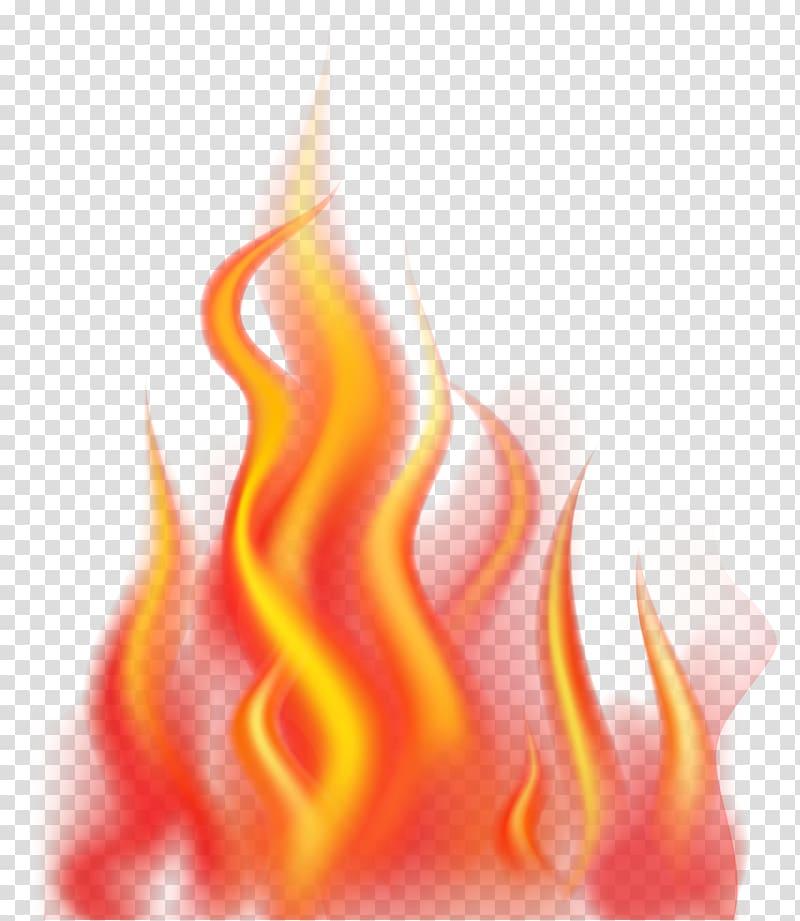 Illustration fire transparent . Flames clipart orange flame