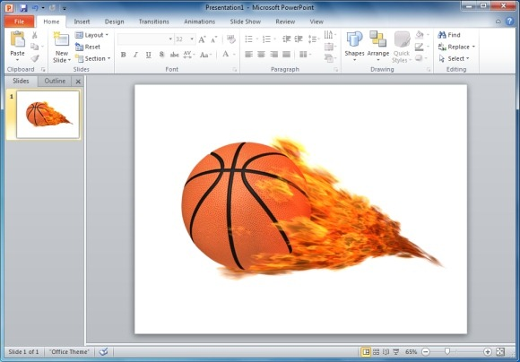 Flames clipart powerpoint. Animated template and