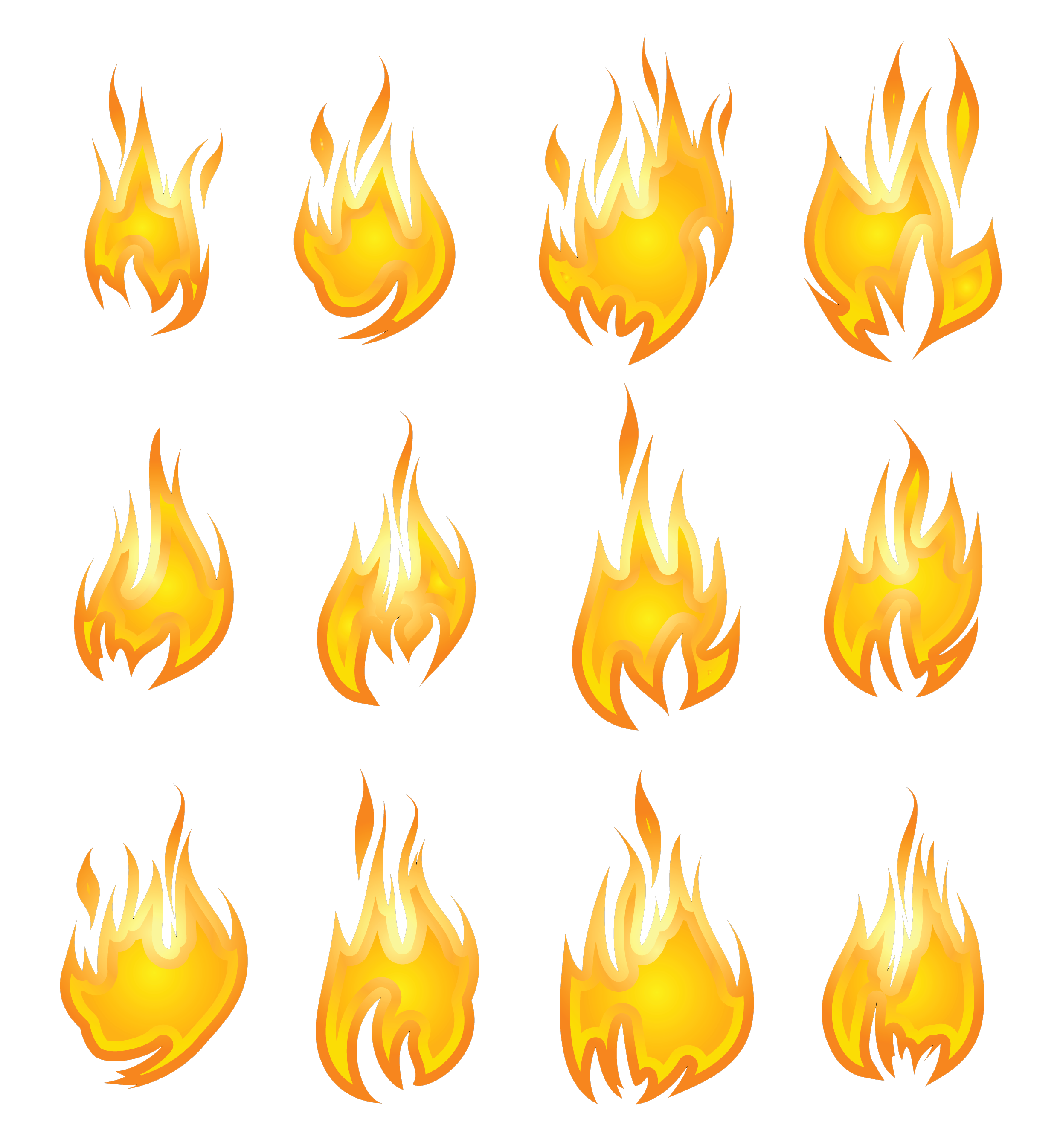 Flames clipart simple fire. Flame png