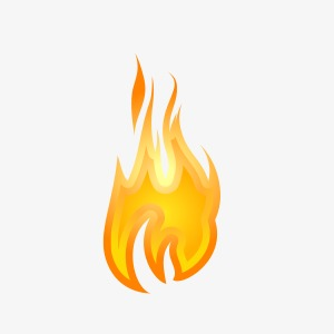 Flames clipart small flame. Fire