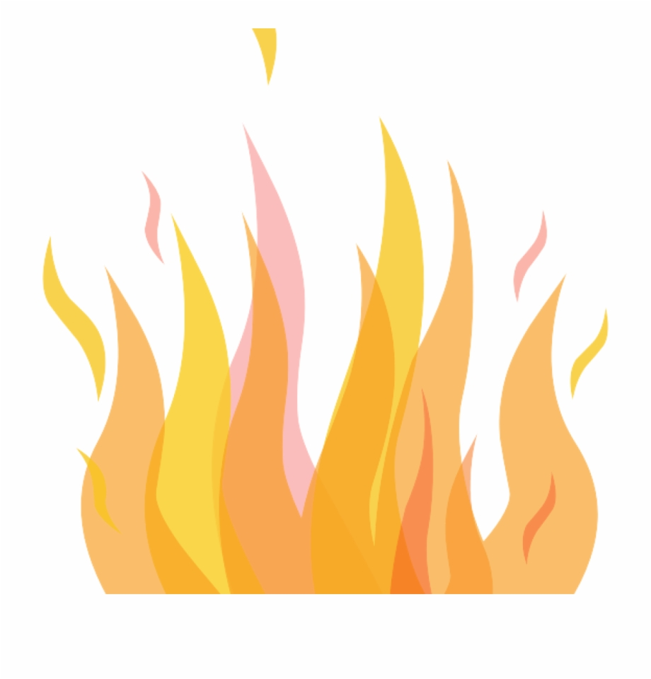 Fire free clip art. Flames clipart yellow flame