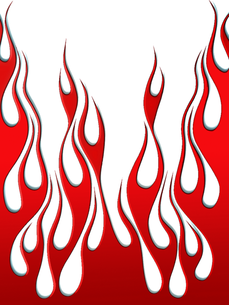 Red psd official psds. Flames vector png