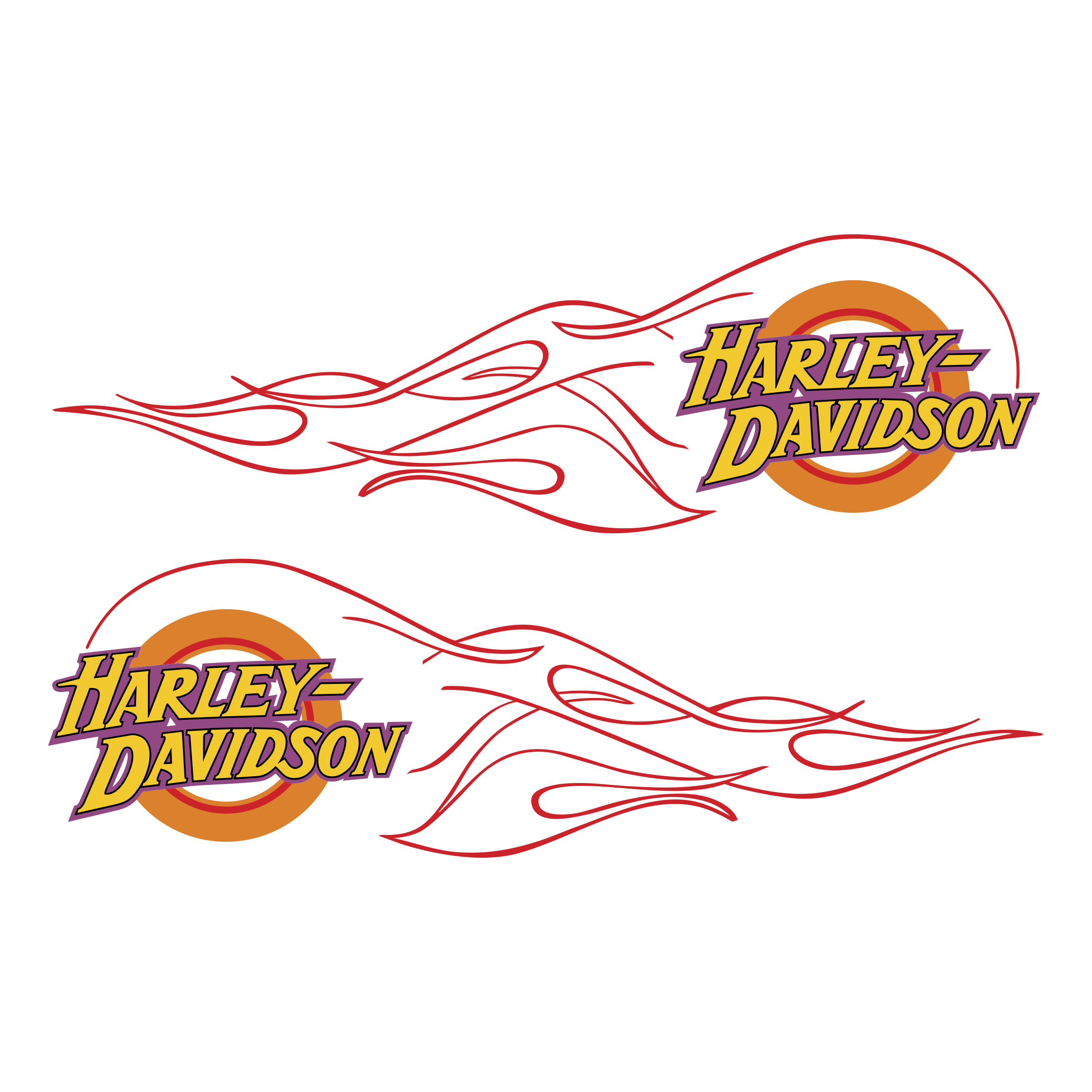 Harley davidson flame logo. Flames vector png