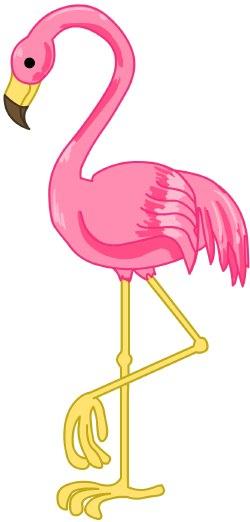 Clip art free panda. Flamingo clipart