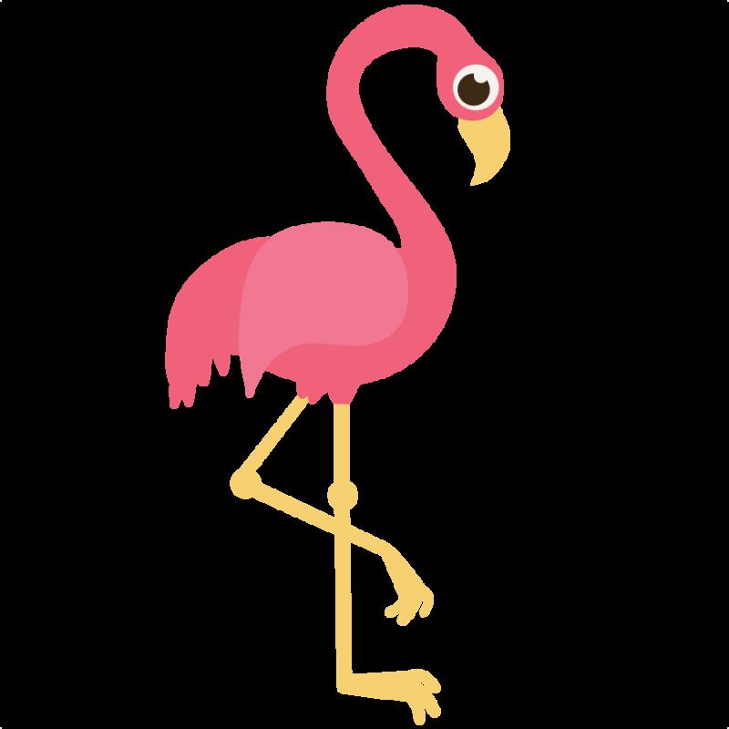 Flamingo clipart. Clip art free panda