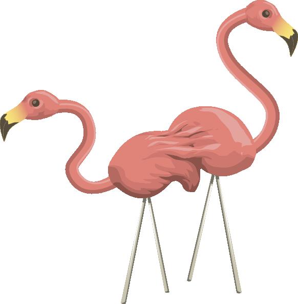 Flamingo clipart face. Public domain