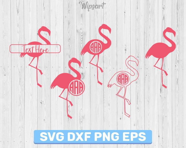View Birds Monogram Frame Svg Dxf PNG