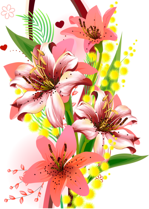 Tube png everywhere pinterest. Flowers clipart pineapple