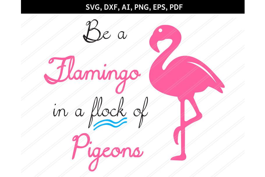 Flamingo clipart pdf. Svg dxf eps ai