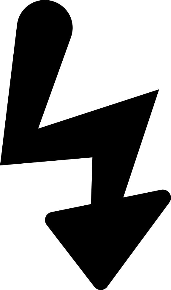Bolt shape black symbol. Flash clipart camera shot