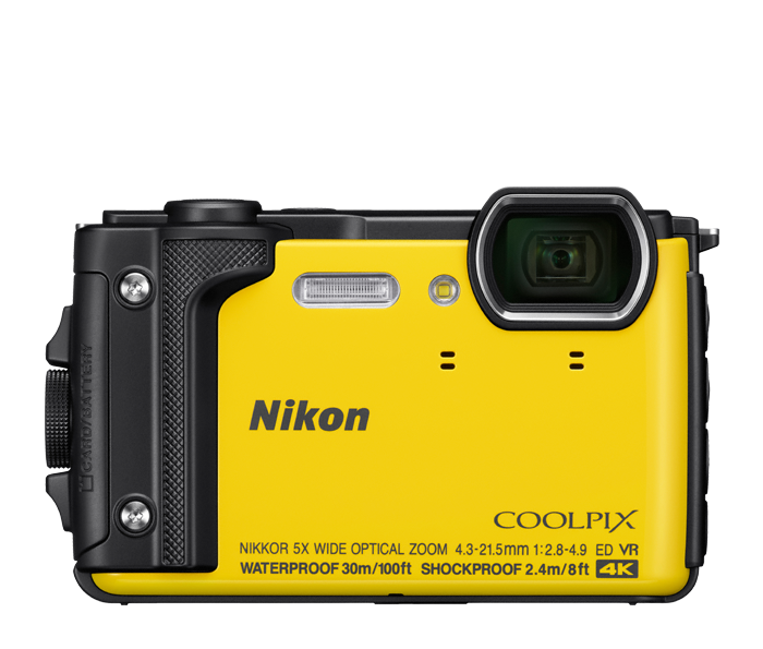 Nikon coolpix w compact. Flash clipart camera shot