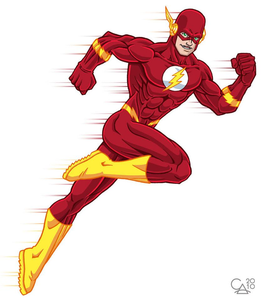Flash clipart character marvel. The by boy meets