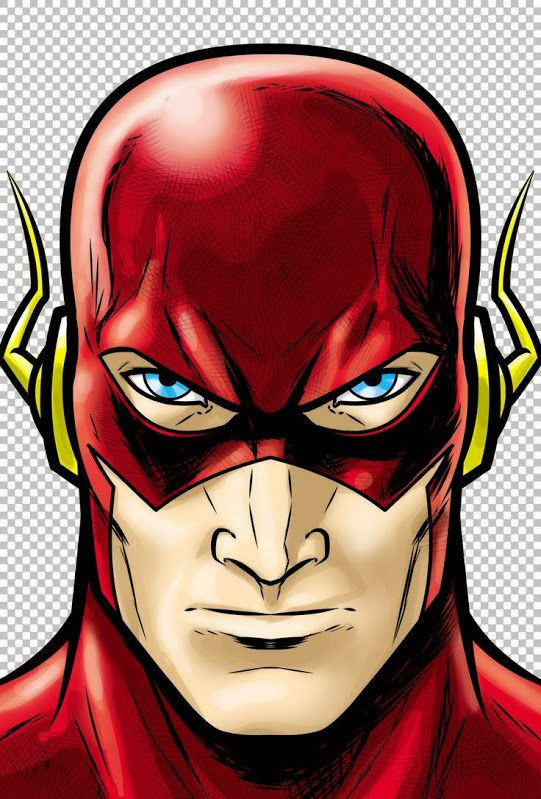 Superhero only clip art. Flash clipart flash face