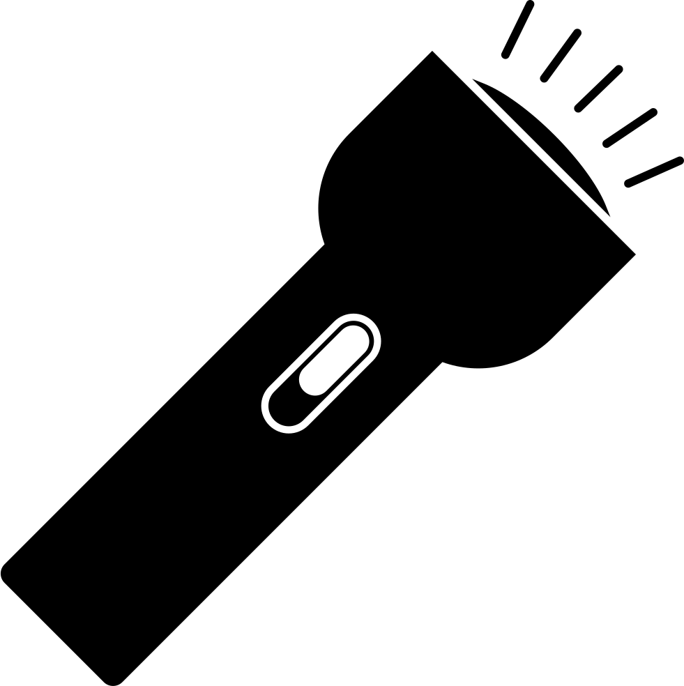 Png image free download. Flashlight clipart miniature