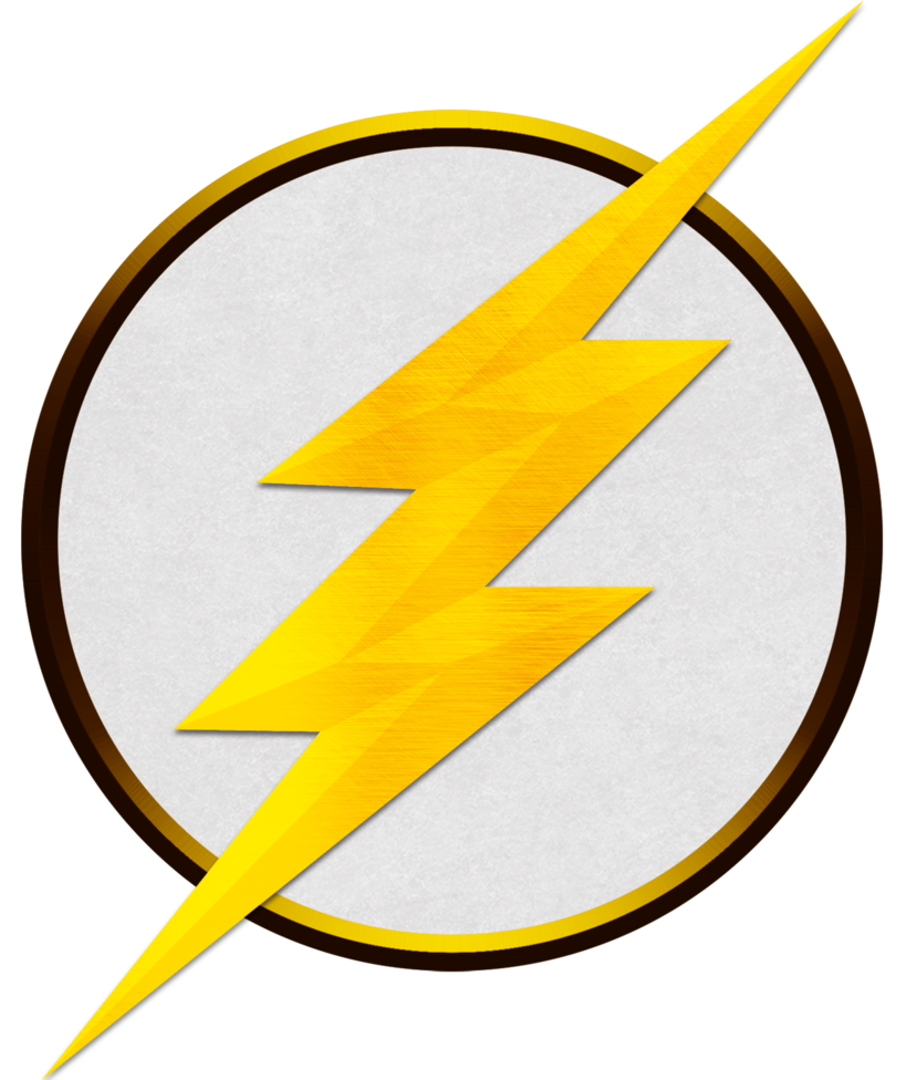 White The Flash Logo Png | 976x819