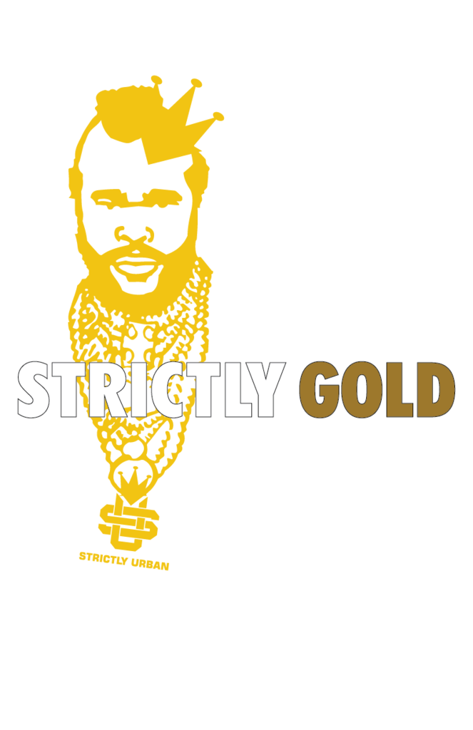 Flash clipart flashy. Strictly gold t shirt
