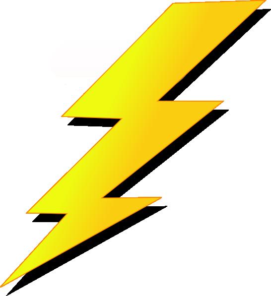 Lighting clip art at. Lightning clipart red yellow
