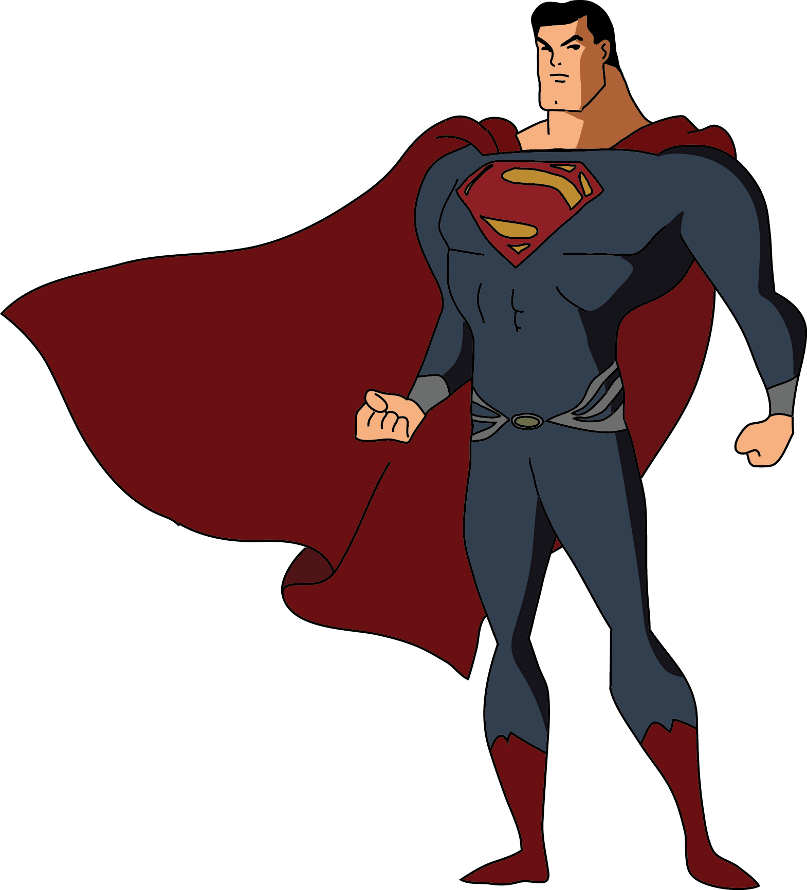 Superheroes clipart justice league. Why the dc animated