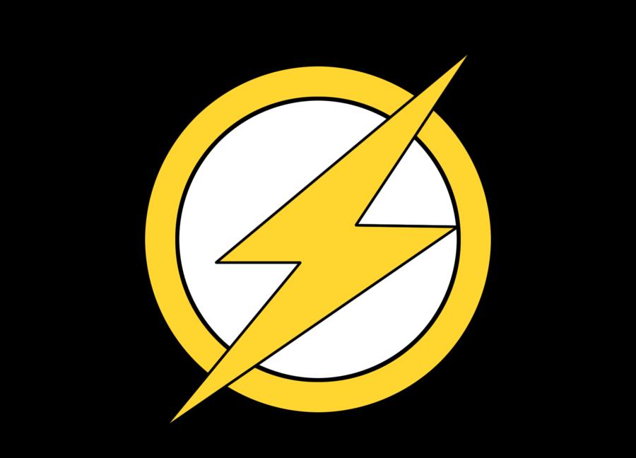 Flash clipart symbol. Continuing the making symbols