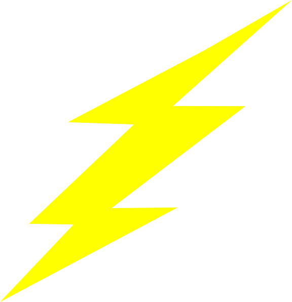 Flash clipart symbol. Straight bolt clip art