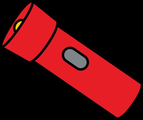 Flashlight clipart. Clip art from mycutegraphics