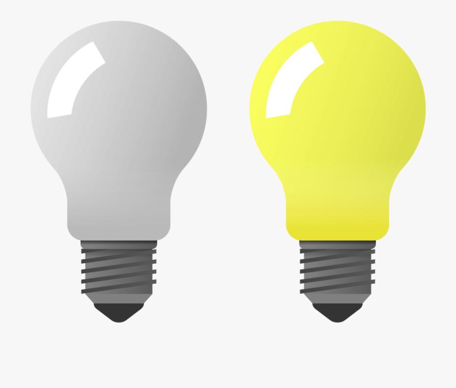 Flashlight clipart dark clipart. Light bulb on off