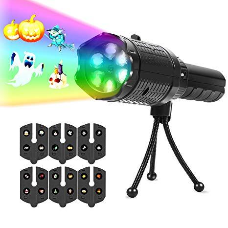Flashlight clipart light projector. Upperx led lights battery