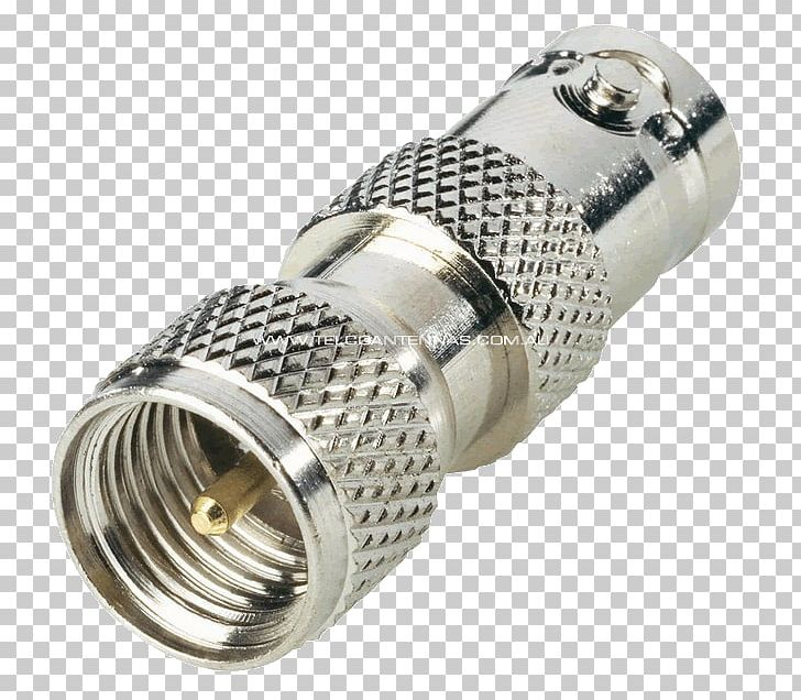 Coaxial cable uhf connector. Flashlight clipart miniature