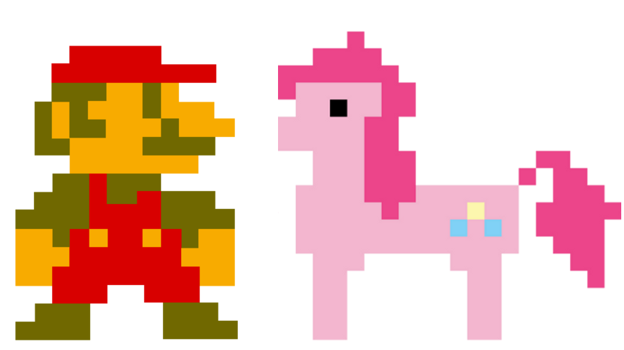 Keyboard clipart pixel art.  adventure ponies artist
