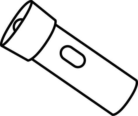 Flashlight clipart small blue. Free cliparts download clip