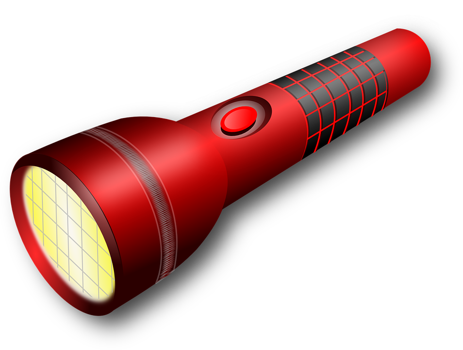 Flashlight survival kit free. Lds clipart restoration