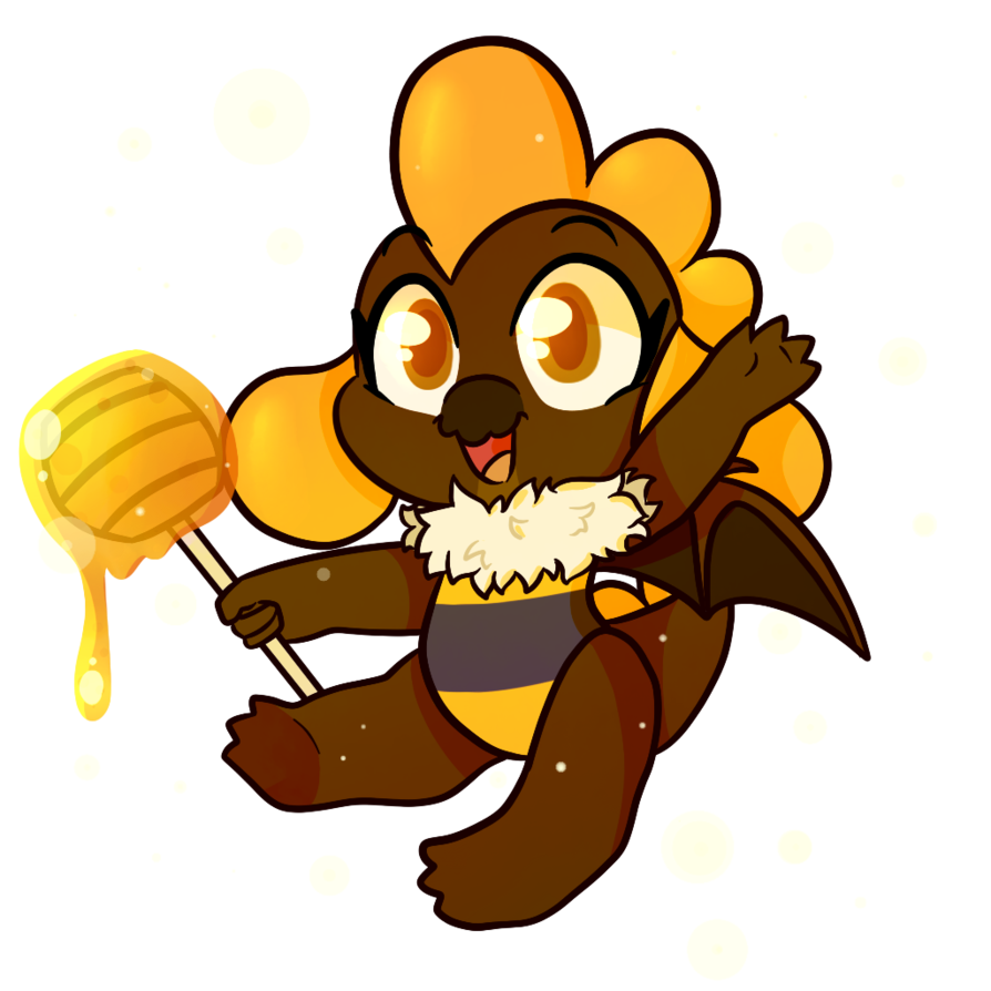 Flies clipart filthy. Mace bee by sunnyhoneybone