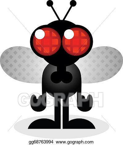 Vector stock house fly. Flies clipart filthy