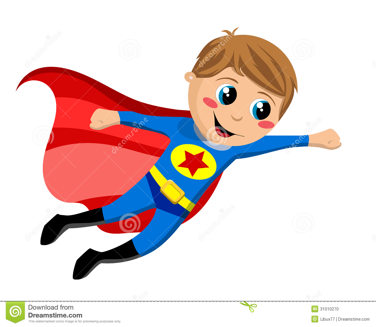 Fly clipart kid.  superhero clipartlook