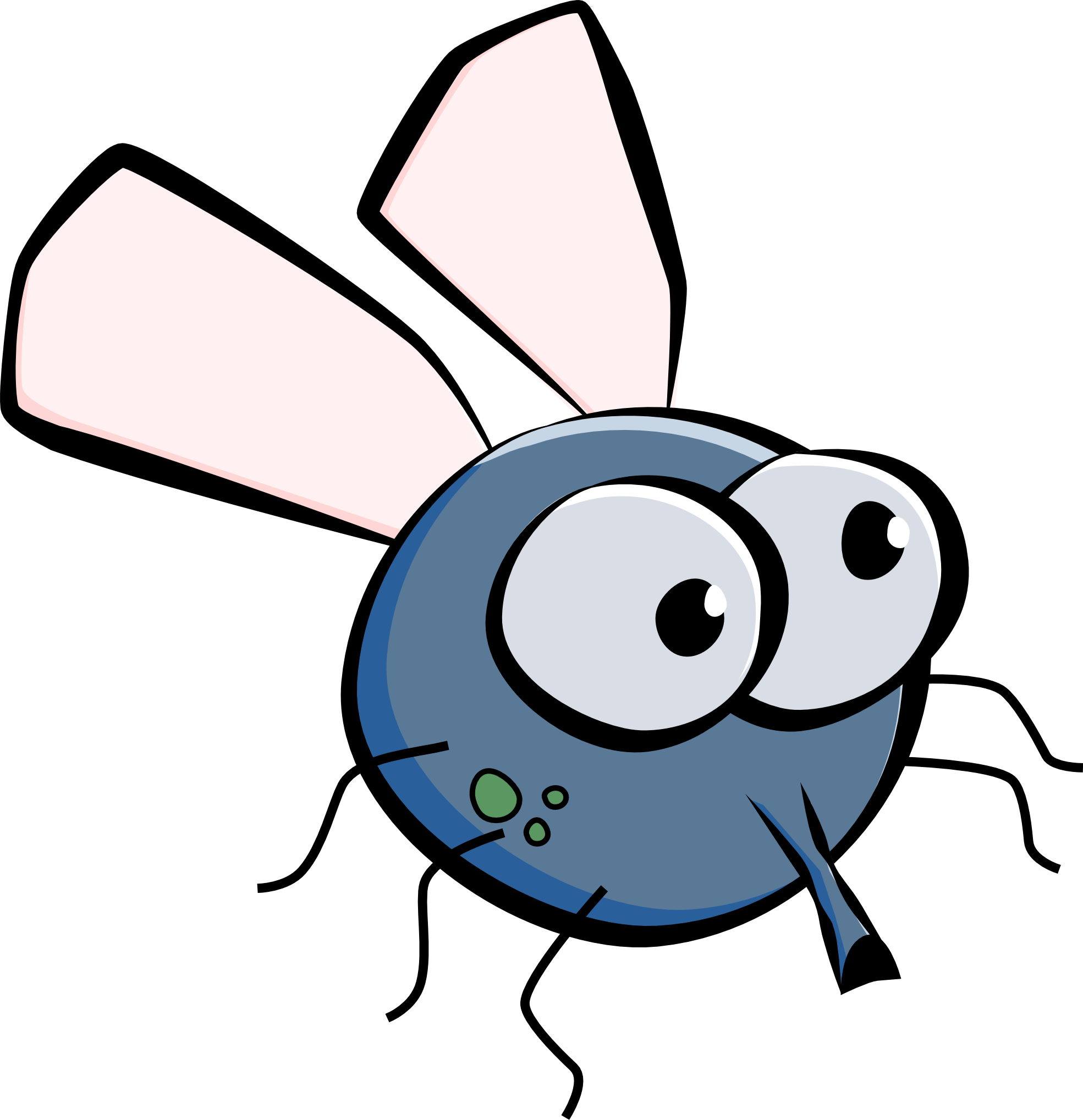 Cartoon jokingart com download. Fly clipart drosophila