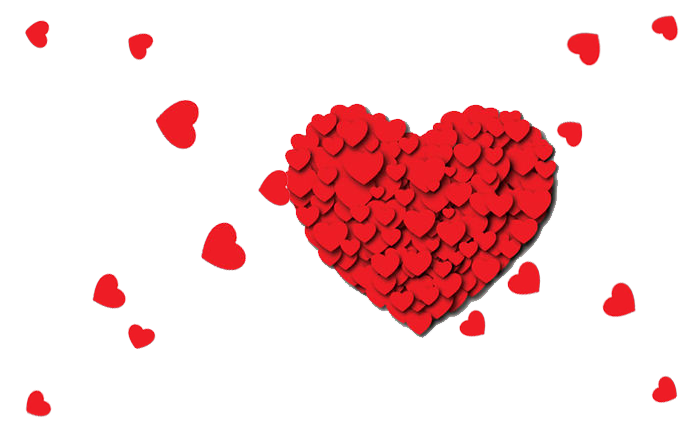Floating hearts png. Heart download pattern transprent
