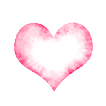 Heart in transparent images. Floating hearts png