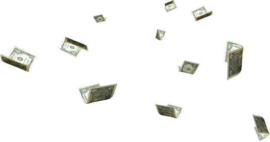 Psd official psds share. Floating money png