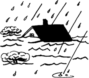 Free bathroom cliparts download. Flood clipart black and white