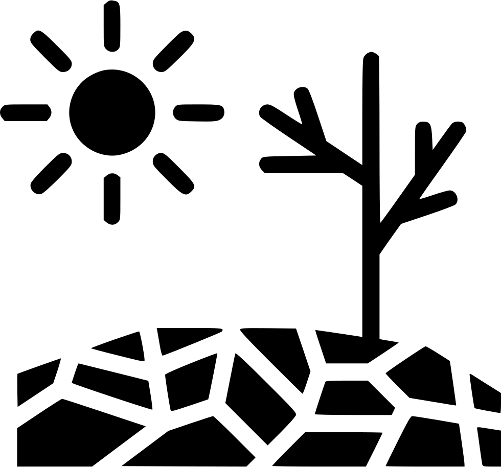 Flood clipart drought. Disaster sun svg png