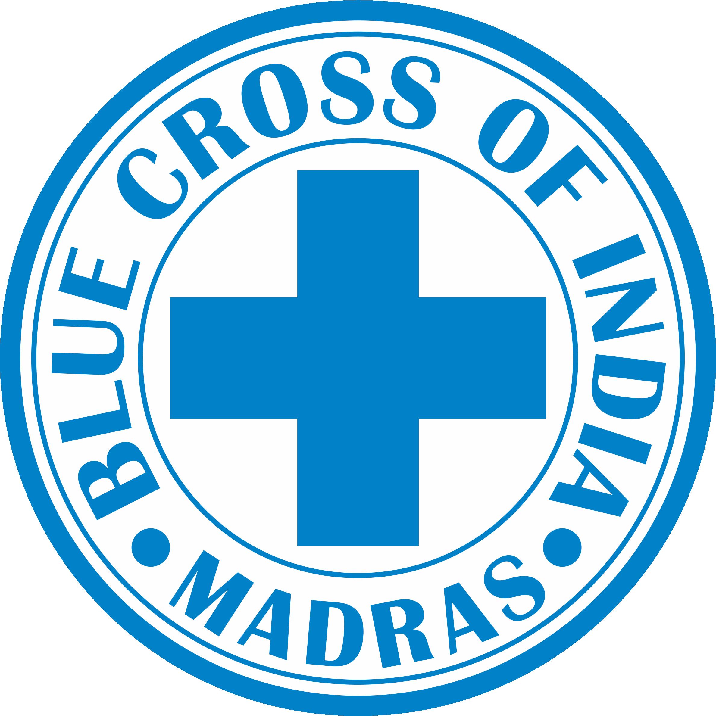 Blue cross of india. Flood clipart flood chennai