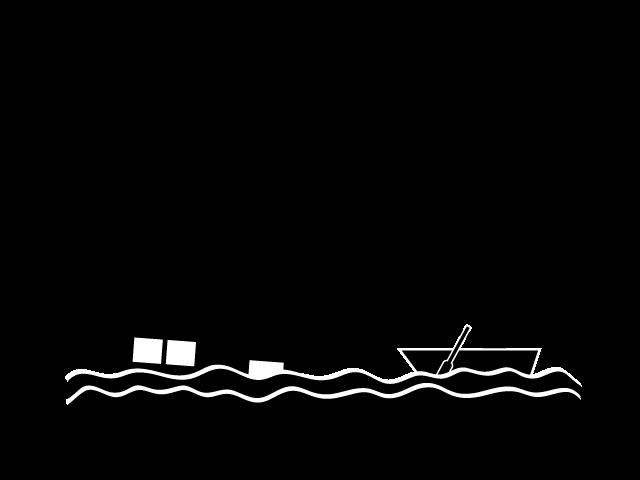 Illustration material free pictogram. Flood clipart flood disaster